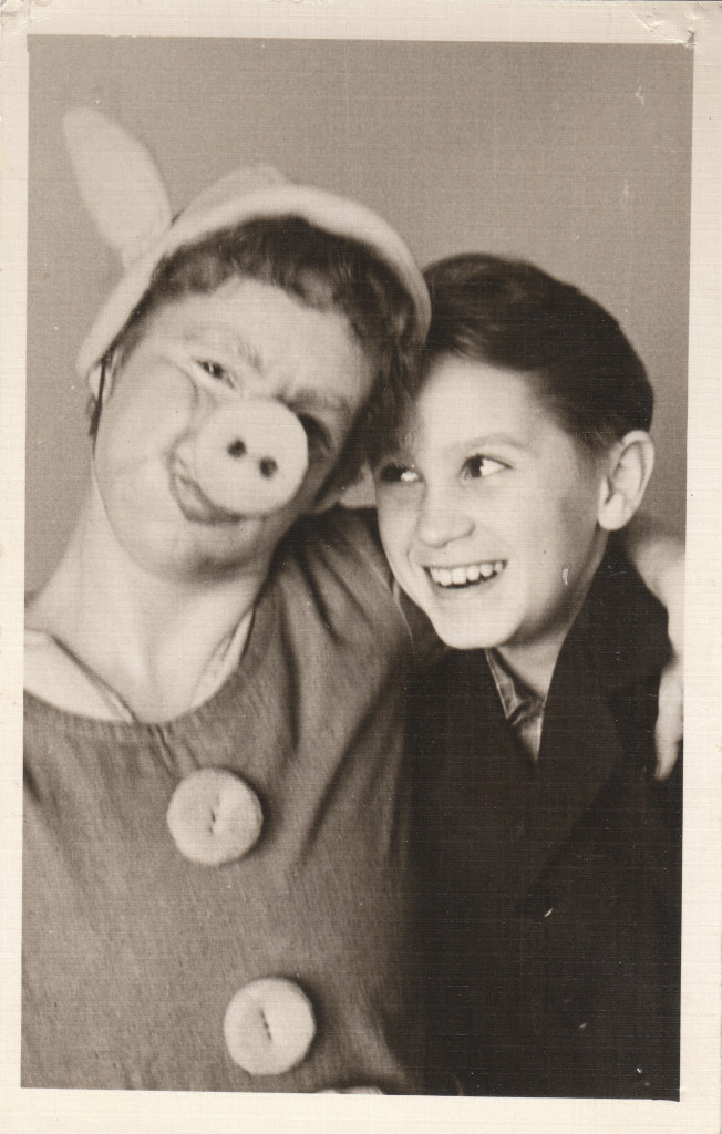 Лидия Римшевич и Юра Виноградов. Мать и сын.